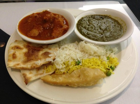 Taj India Indian Restaurant: 今日の一回目のメニュー