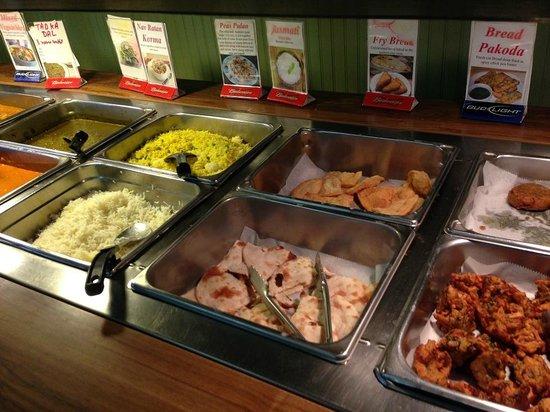 Taj India Indian Restaurant: ホンの一部です