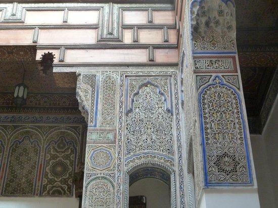 Dar Seffarine: Architecture detail