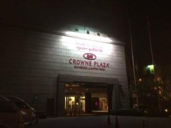 Crowne Plaza Bangkok Lumpini Park : 入口