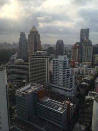 Crowne Plaza Bangkok Lumpini Park : 部屋から