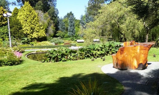 Queens Park: A pretty little corner of Queen's Park in Invercargill.