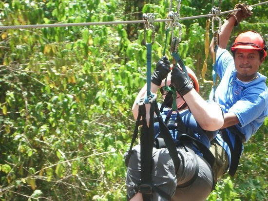 Calico Jack's Village : Going the extra mile so I could Zip Line