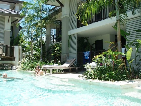 Palmer Sea Reef Golf Course: Our Condo With Steps Right Into The River Pool!