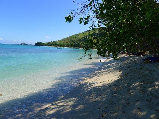 Blue Lagoon Beach Resort: The Beach in front of Palm Villa 2