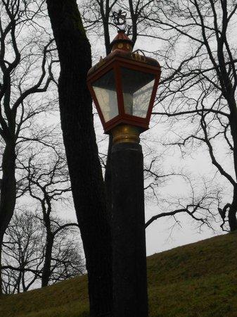 Castillo y Fortaleza de Akershus: luz