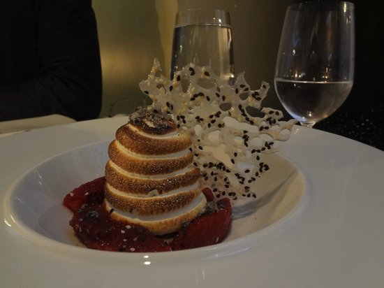 Oceana Restaurant : Baked Alaska - бесподобно вкусно, нежно, красиво,