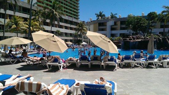 El Cid Castilla Beach Hotel: Larger pool Area