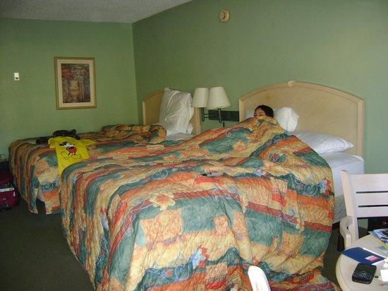 Ramada Kissimmee Gateway : Quartos confortáveis
