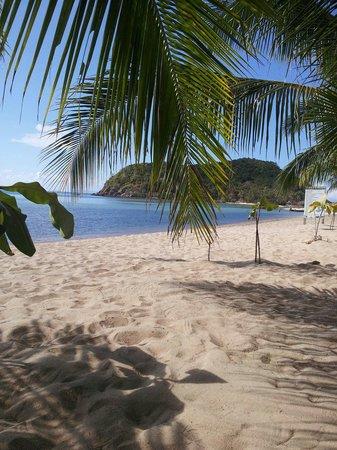 Beautiful beach at Wang Sai Resort.
