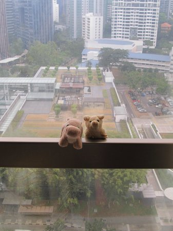 Sheraton Towers Singapore : View from suite room