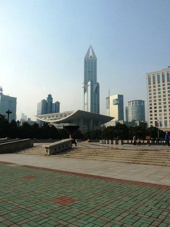Museo de Shanghai: Surrounding areas