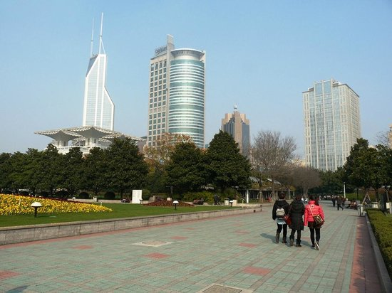 Museo de Shanghai: Nice walk in the park