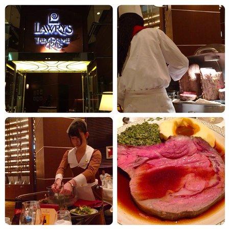 Lawry's The Prime Rib, Osaka : 変わらぬ味が嬉しい