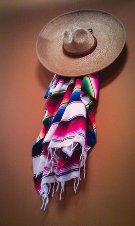 Old Mexico Taco Buffet : Sample of wall decorations