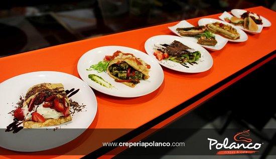 Crepería Polanco: ¡Una variedad de deliciosas crepas para todos los gustos!