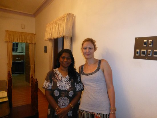 Aroma Homestay : With Elizabeth in the main dining room
