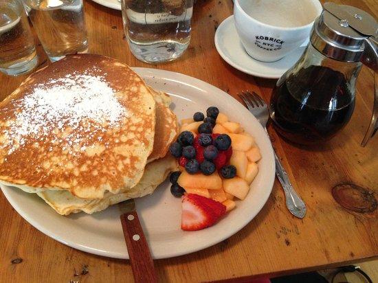 Penelope : délicieux ces pancakes