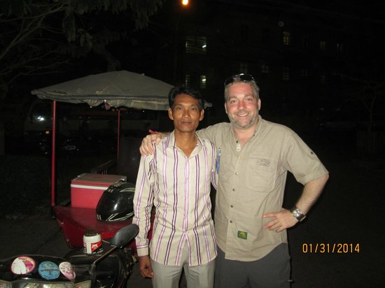 Angkor Driver Guide Private Siem Reap Day Tours: MJ and I