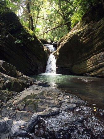 La Mina Falls: Falls before the falls