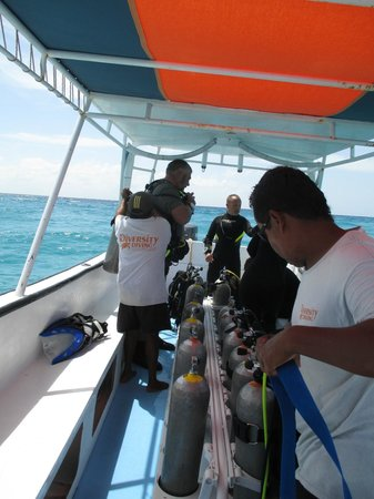 Diversity Diving: On board