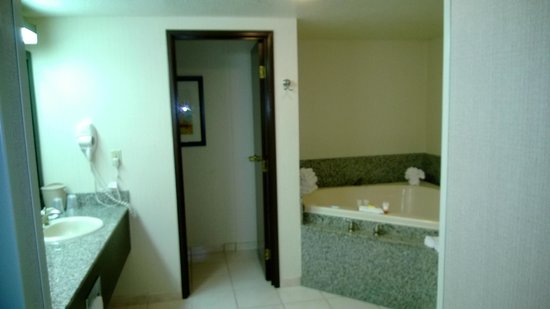 Circus Circus Hotel & Casino Las Vegas : The Bathroom from the bedroom