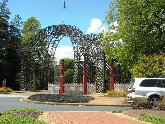 Government Gardens: Garden Entrance