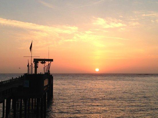 The Wharf Master's Inn: Sunset