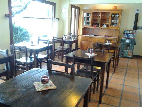 Posada El Viajero: local para cafe