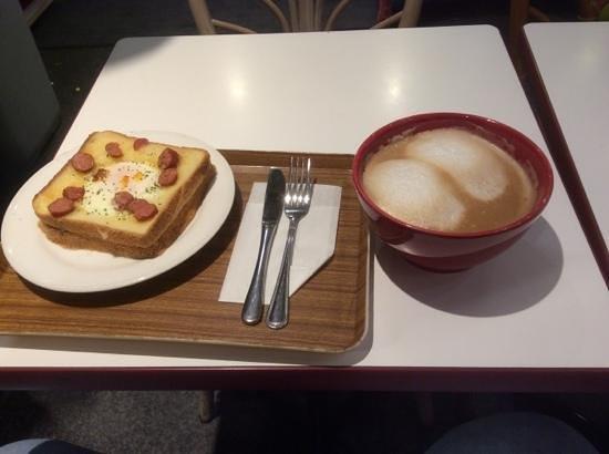 Sakura Hotel Jimbocho: fruehstueck a la karte