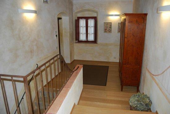 Borgo Petrognano: hallway near our room
