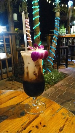 Malakor Thai Cafe: Thai Iced Coffee. Mel J's favorite drink