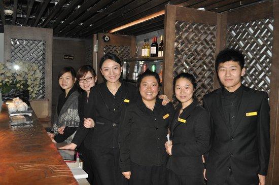 Shichahai Shadow Art Performance Hotel: Fantastic Staff