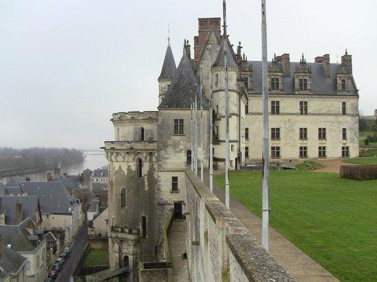 Château d'Amboise : Side aspect