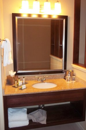 Doubletree by Hilton Hotel Columbia : Clean bathroom with nice amenities