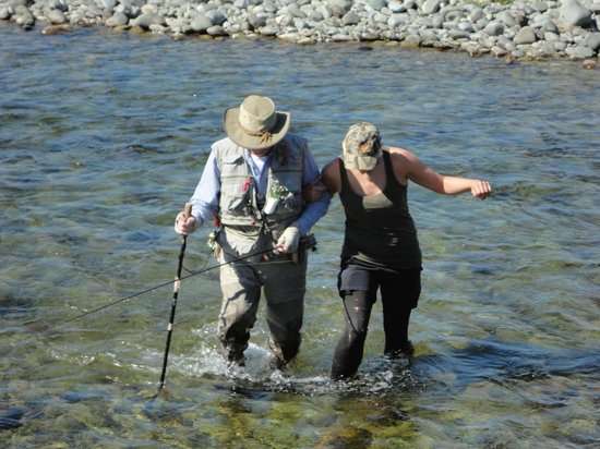 Stu's Fly Shop: A helping hand from Ela