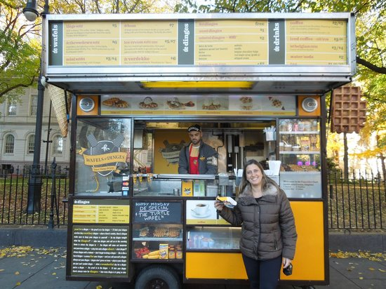 Wafels & Dinges: In the beginning of the Brooklyn Bridge, in Downtown