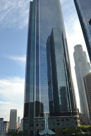Omni Los Angeles at California Plaza: вид из окна
