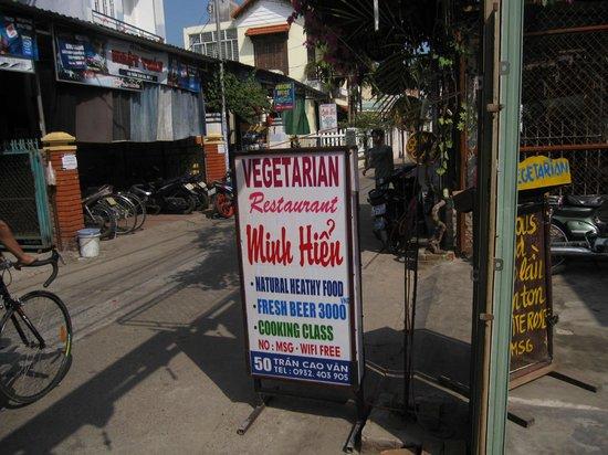 Minh Hien Vegetarian Restaurant: Minh Hien Veg restaurant