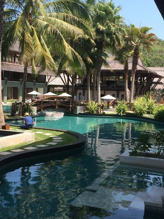 Mai Samui Resort & Spa : The view from our balcony
