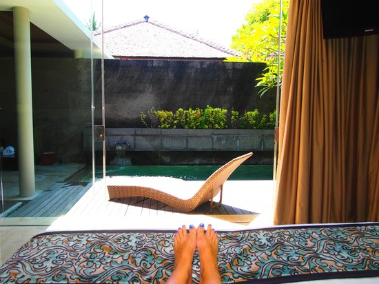 Bali Mandira Beach Resort & Spa: A PERFECT way to start the day
