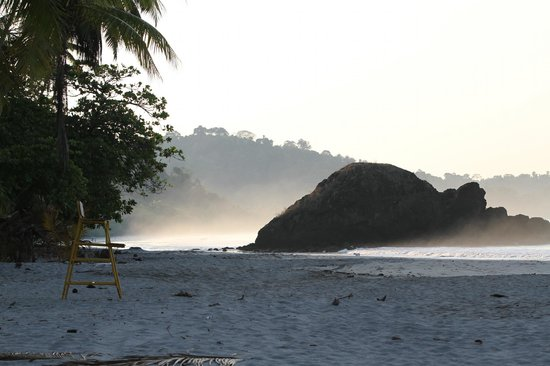 Arenas del Mar Beachfront and Rainforest Resort, Manuel Antonio, Costa Rica: View of Espadilla Beach at sunrise