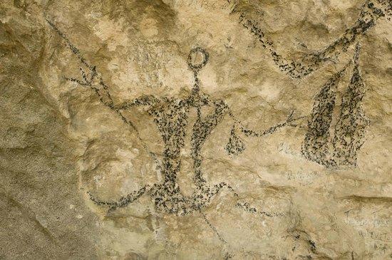 Te Ana Maori Rock Art: Maori rock art