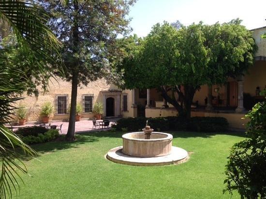 Hacienda Labor de Rivera Hotel Boutique: patio central