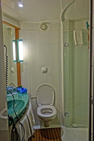 """Ibis Munich Parkstadt Schwabing: The """"Pod"""" bathroom"""