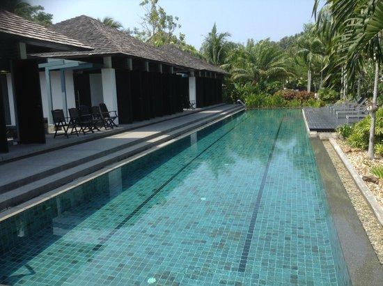 Bangtao Beach Gardens Apartments: Lap Pool with Gym and Sauna