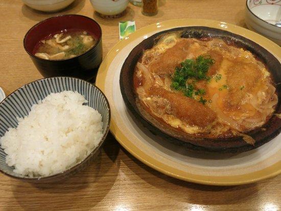 Shinjukukappo Nakajima: hot plate sardines 柳川