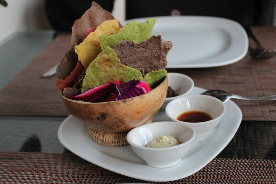 Tierra y Cielo Restaurante: Tostadas de varios sabores
