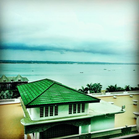 DoubleTree by Hilton Dar es Salaam-Oysterbay : View from my room