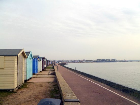 Brightlingsea, UK: beach
